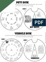 SD - pet disk