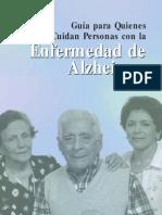 Guias Para Quienes Cuidan a Personas Con Alzheimer