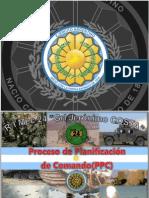 Proceso de Planificación de Comando - My I JULIO CÉSAR BUONICONTO (RI Mec 24) - Año 2012