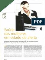 Saúde das mulheres em estado de alerta. Revista Profissional & Negócios