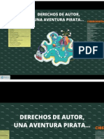 Derechos de Autor, Una Aventura Pirata...