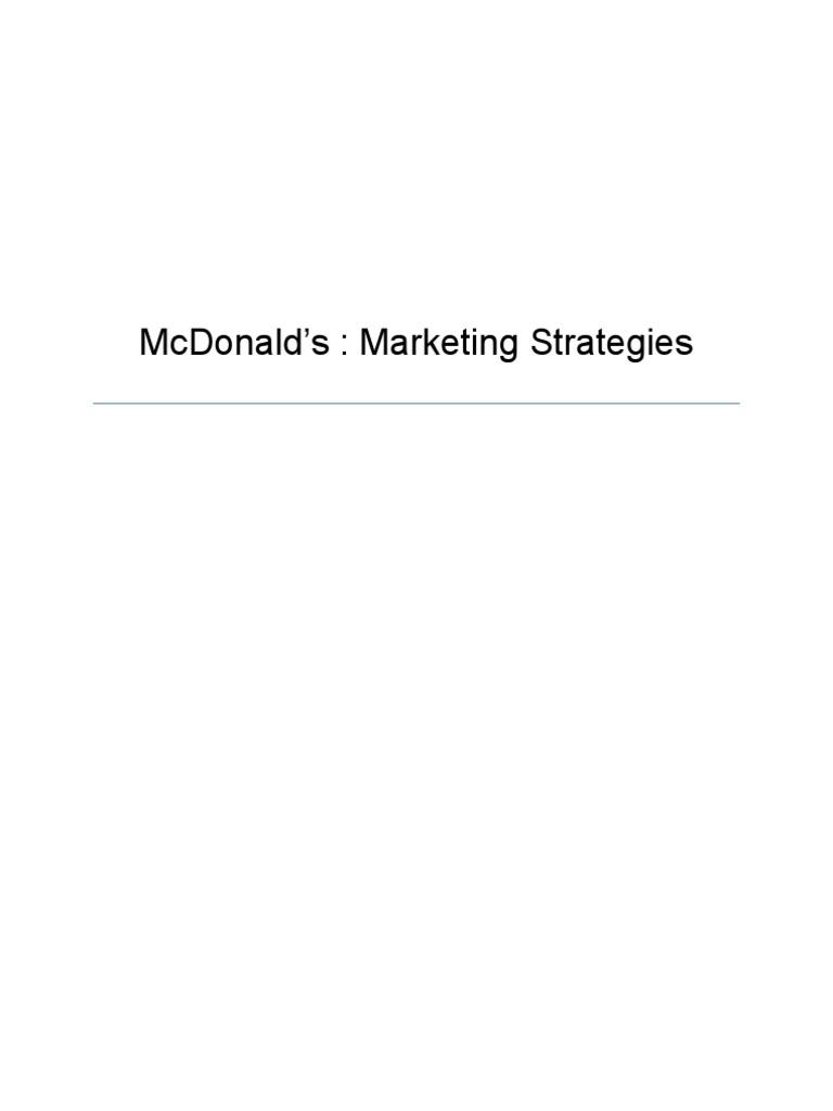 mcdonalds transnational strategy