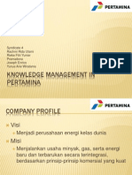 Knowledge Management in Pertamina