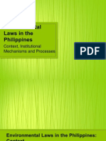 Environmental Laws in the Philippines - Context