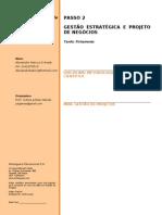 PASSO 2 - FICHAMENTO - ALEXANDRE - GESTÃO ESTRATÉGICA