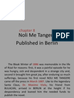Chapter 8-Noli MeTangere Published in Berlin