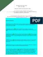 Decreto 663 de 1993_estatuto Organico Del Sistema Financiero