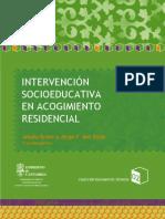 Intervención socioeducativa en acogimiento residencial. Santander. Gobierno de Cantabria