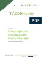 QREN TVCOM Comparação das tecnologias RIA Flash e Silverlight 1.0.pdf