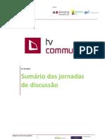 QREN TV COM Sumário das Jornadas de Discussão - Final 1 0.pdf