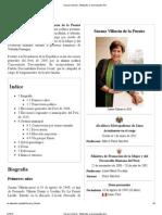 Susana Villarán - Militancia en el Partido Comunista Revolucionario Peruano 1977-1979  - Wikipedia, la enciclopedia libre.