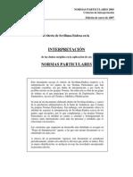 2007-01 Criterios de Interpretacion Normas Endesa