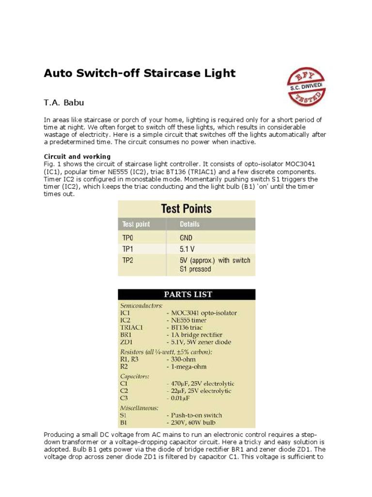 2 Waypdf Electrical Network Switch Opto Triac Circuit