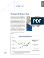 The State of the Minimum Wage