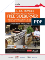 "FREE DCS SideBurner with the purchase of any 36"" or 48"" Grill Head"