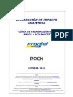 DIA Linea 66 kV Angol - Los Sauces