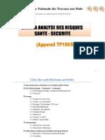 1. Canevas Analyse Des Risques TP 199