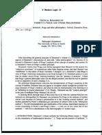 Angelelli Critical-Remarks on Dummett's Frege