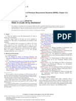 ASTM D4006 Standard Test Method for Water in Crude Oil by Distillation