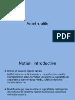 Ametropii