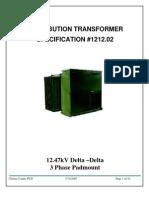 22671591 1212-02-15kV Delta Delta Padmount Transformer