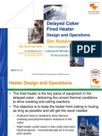 Delayed Coker Fired Heaters