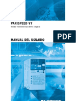 Manual Variador v7, OMRON, ESPAÑOL