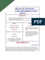 ANÁLISIS DEL DESARROLLO DEL GRUPO