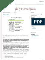 Fibromialgia y Homeopatía