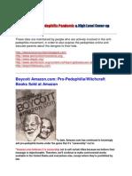 Child Porn Pedophilia Pandemic High Lev