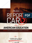 Report Card on American Education: Ranking State K-12 Performance, Progress, and Reform
