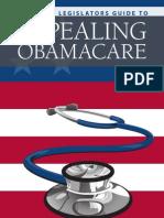 State Legislators Guide to Repealing ObamaCare