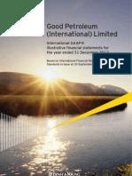 Good Petroleum International Limited