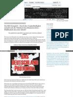 Das BRD-Komplott - Wir wählen eigene Versklavung - Wahlboykott als erster Schritt - stopesm 2013