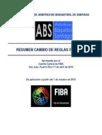 Res+¦men Cambio de Reglas 2010
