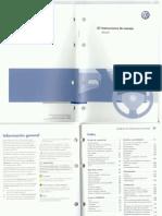 Manual de Usuario Passat 3C