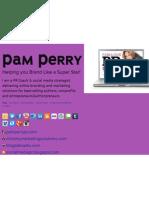 Pam Perry Media Relations PR Boot Camp Transcript