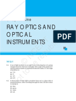 Ray Optics and Optical Instruments