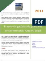 Periodicidade Documentos Diversos Contabilidade e Fiscal