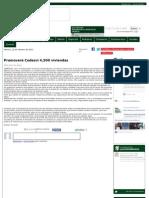 22-02-13 Promoverá Codesvi 4,500 viviendas