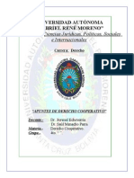 Derecho Cooperativo, Libro Dr.echeverria