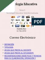 Tecnologia Educativa Correo Electronico