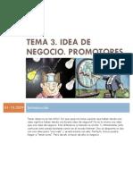 Tema 03 Idea de Negocio