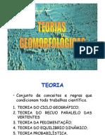 Teorias Geomorfologicas