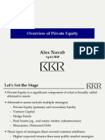 Alex Navab - Overview of Private Equity