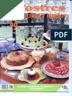 Postres sencillos y rápidos - Colección Cocina Estrella
