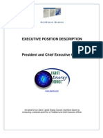 President and CEO- Lignite Energy Council