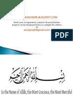 Budget(Pak) 2012-13