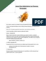 Como administrar tus finanzas personales.pdf