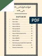 Kumpulan Hizb Syaikh Abu Hasan Asy-Syadzily